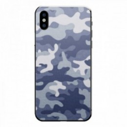 Camo bleu iPhone X