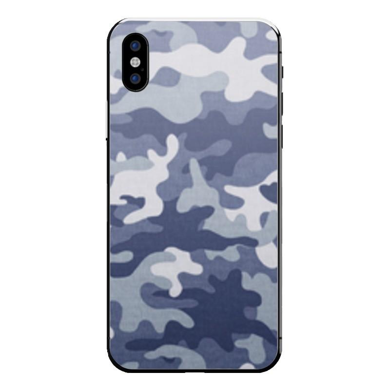 Camo bleu iPhone X