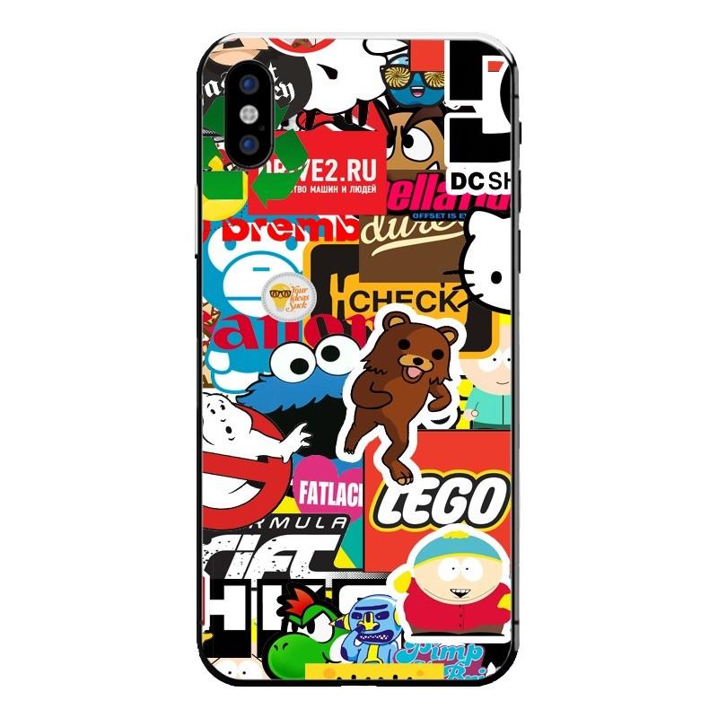 StickerBomb iPhone X
