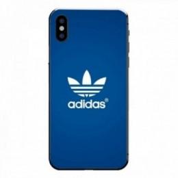 Adidas bleu iPhone X