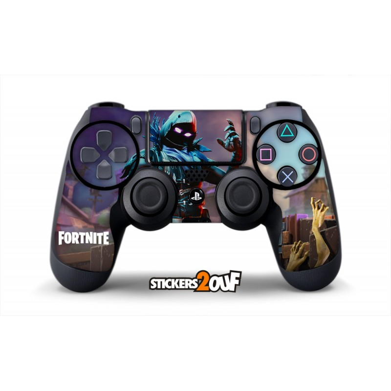 skin fortnite raven sticker pour manette ps4. Black Bedroom Furniture Sets. Home Design Ideas