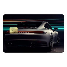 Porsche light Credit Card