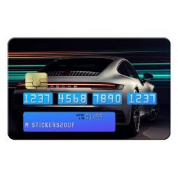 Porsche light Credit Card