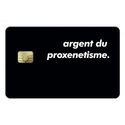 Proxenetisme Credit Card