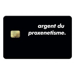Proxenetisme Credit Card