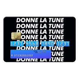 Donne la tune Credit Card