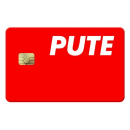Pute Credit Card