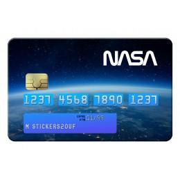 Space Nasa Credit Card