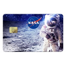 Cosmonaute Nasa Credit Card
