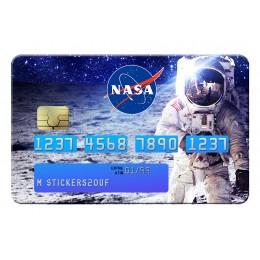 Cosmonaute Nasa Credit Card