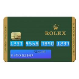 Rolex Credit Card
