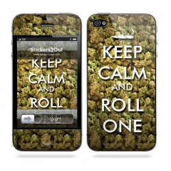 Keep Calm and Roll One iPhone 4 & 4S