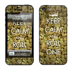 Keep Calm And Roll One iPhone 5
