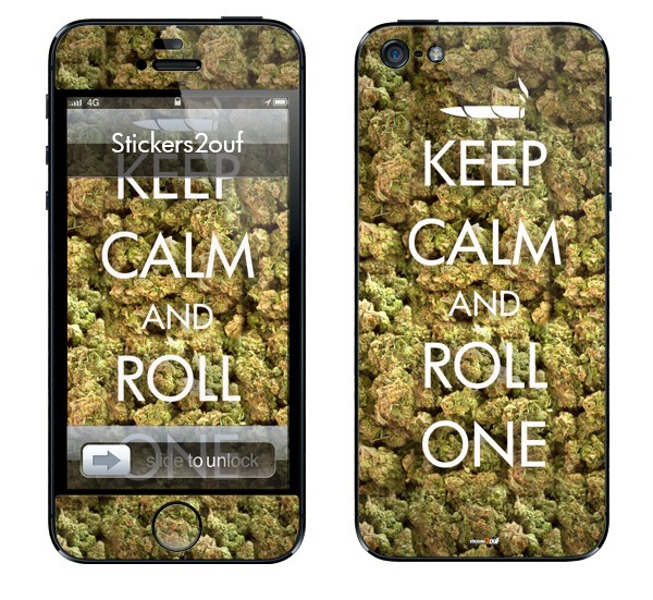 Keep Calm And Roll One iPhone 5 et 5S