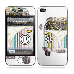 VW Combi iPhone 4 & 4S