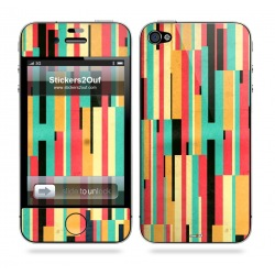 Kiko Pattern iPhone 4 & 4S