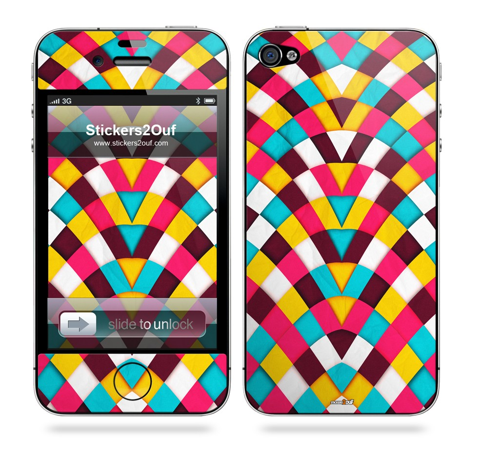 Summer Skin iPhone 4 & 4S