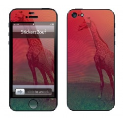 Abstract girafe iPhone 5 & 5S