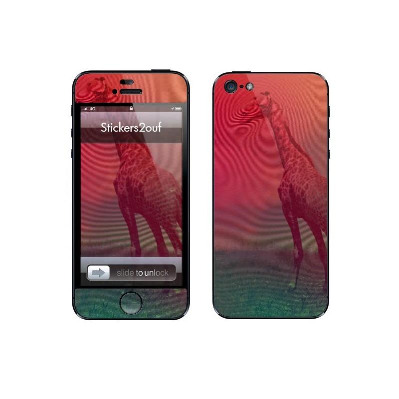 Abstract girafe iPhone 5 & 5S