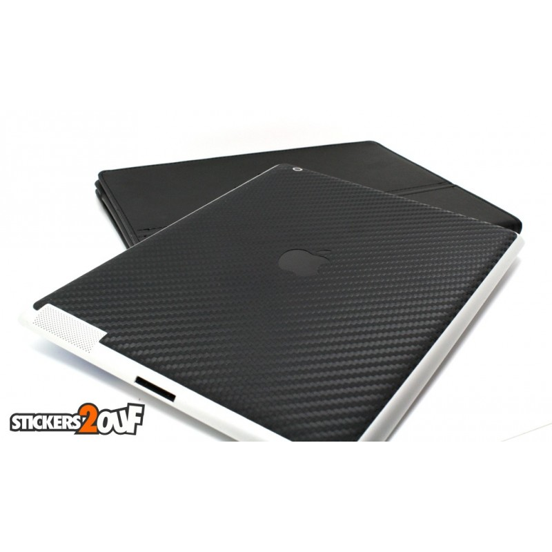 Sticker Carbone Texture iPad 2