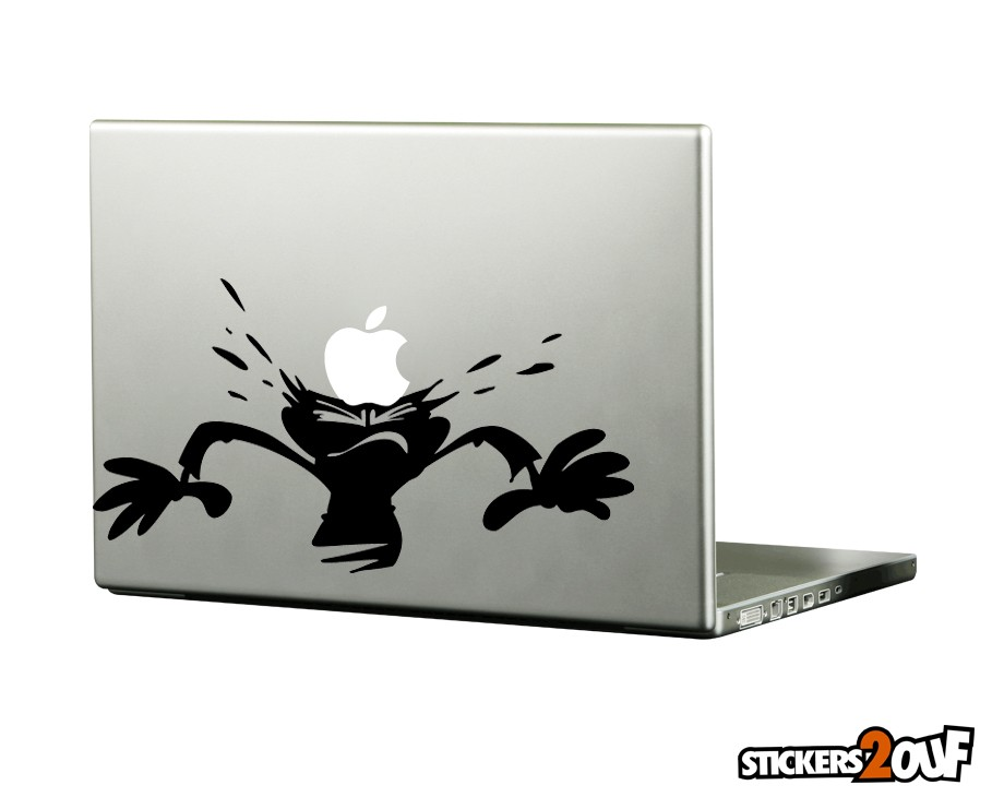 Apple Falling Macbook