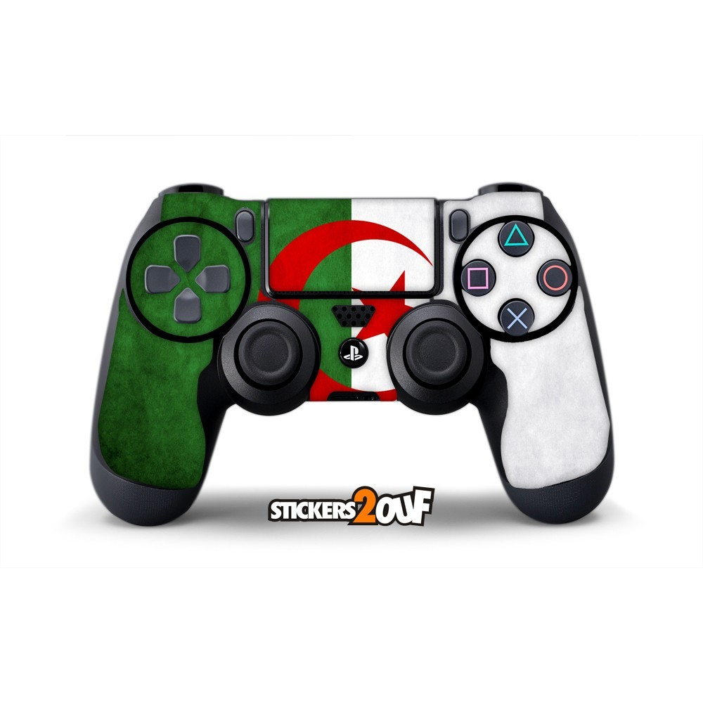 Skin algeria dualshock 4 sony for Housse manette ps4