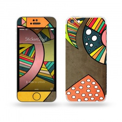 Cosmic Aztec iPhone 5C