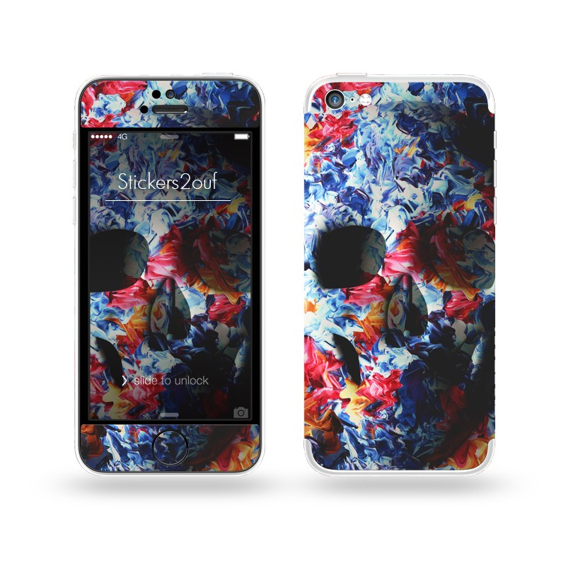 Light Skull iPhone 5C