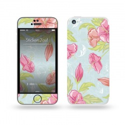 Retro Flower iPhone 5C