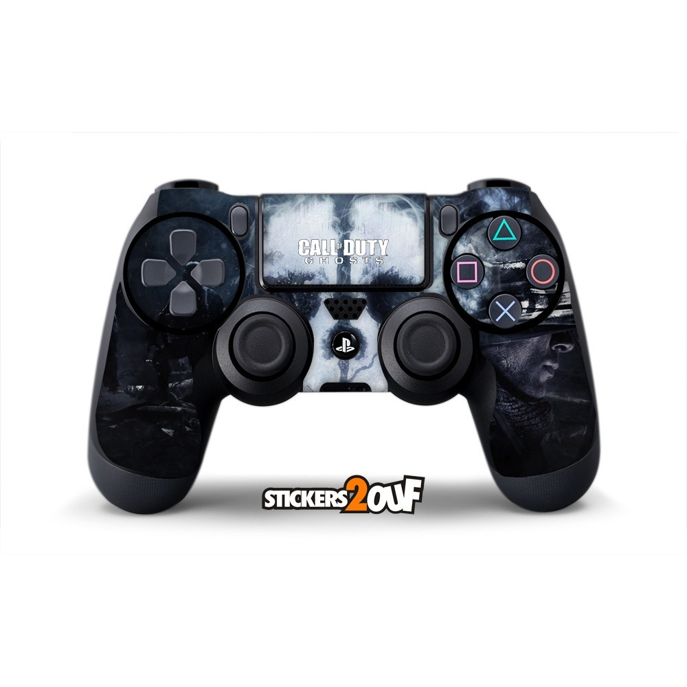 ghost dualshock 4 sony skin. Black Bedroom Furniture Sets. Home Design Ideas
