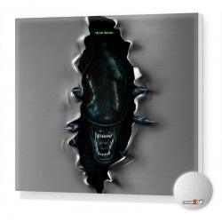 Alien Stretched canvas