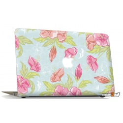 Vintage Flower Macbook