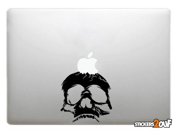 Skull Macbook
