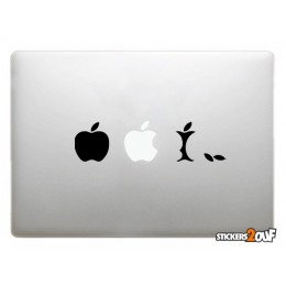 Evolution de la pomme Macbook