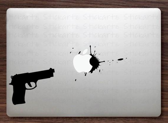 Gun Macbook