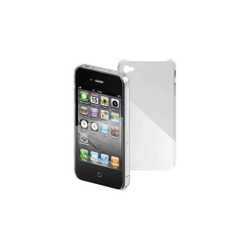 Coque Protection Iphone4 Crystal Transparente