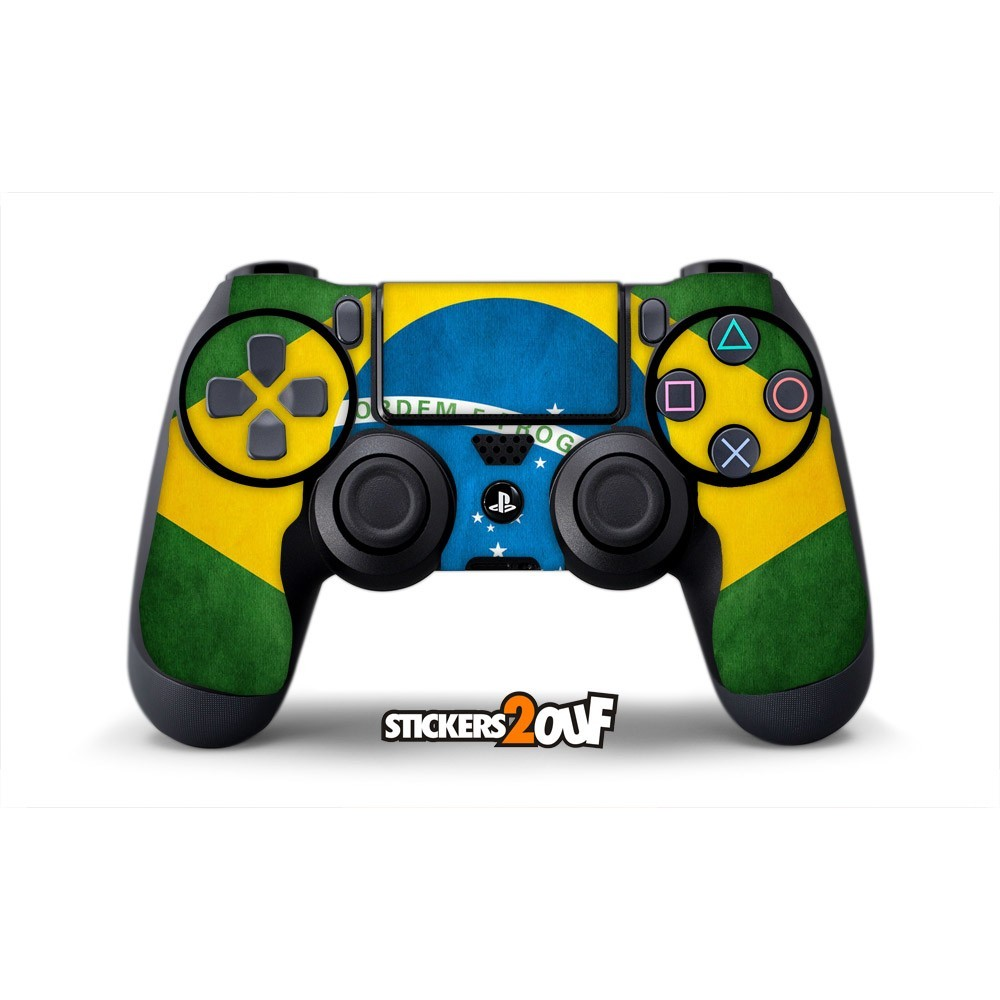 brasil dualshock 4 sony skin. Black Bedroom Furniture Sets. Home Design Ideas