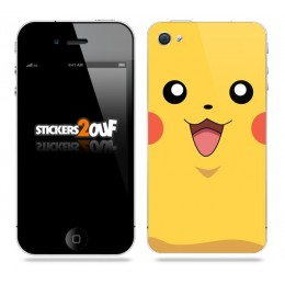 Pikachu iPhone 4 & 4S