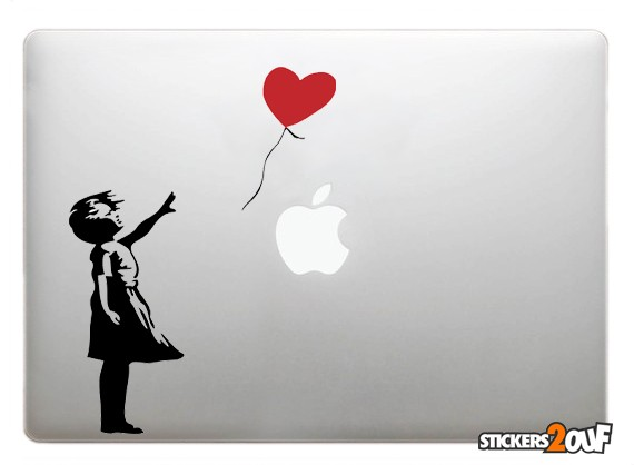 Banksy Girl Balloon