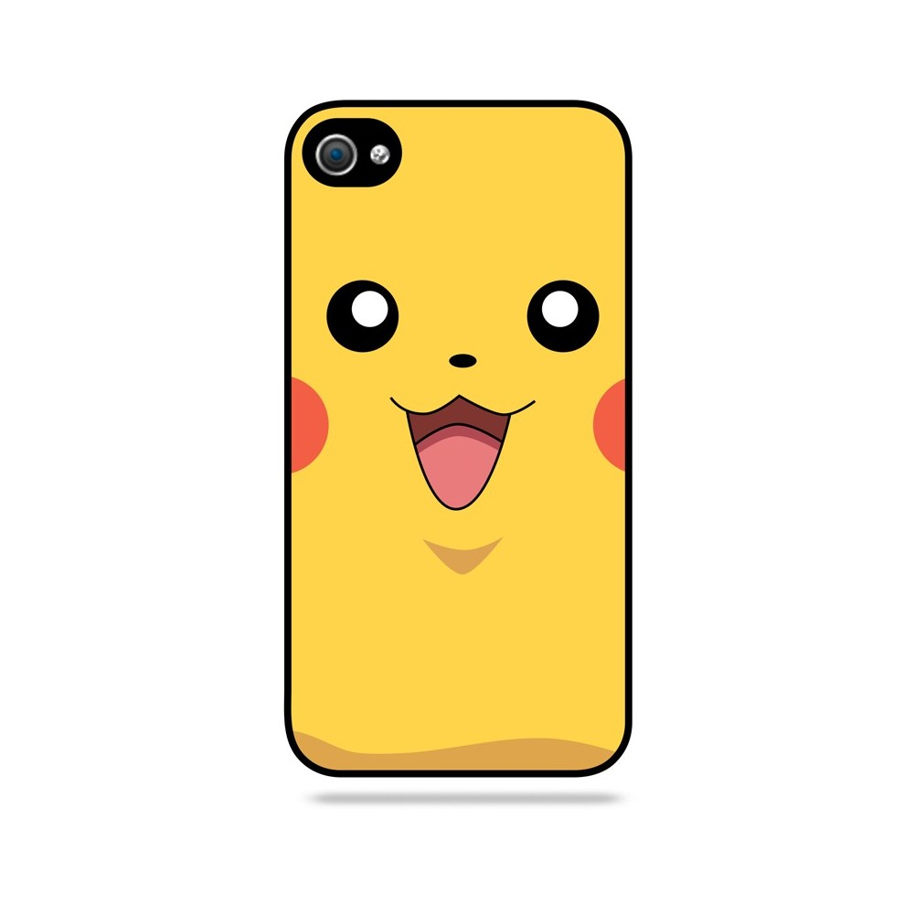 coque coque pikachu iphone 4 4s apple. Black Bedroom Furniture Sets. Home Design Ideas
