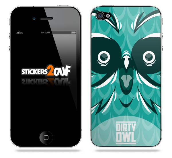 Dirty Owl iPhone 4 et 4S