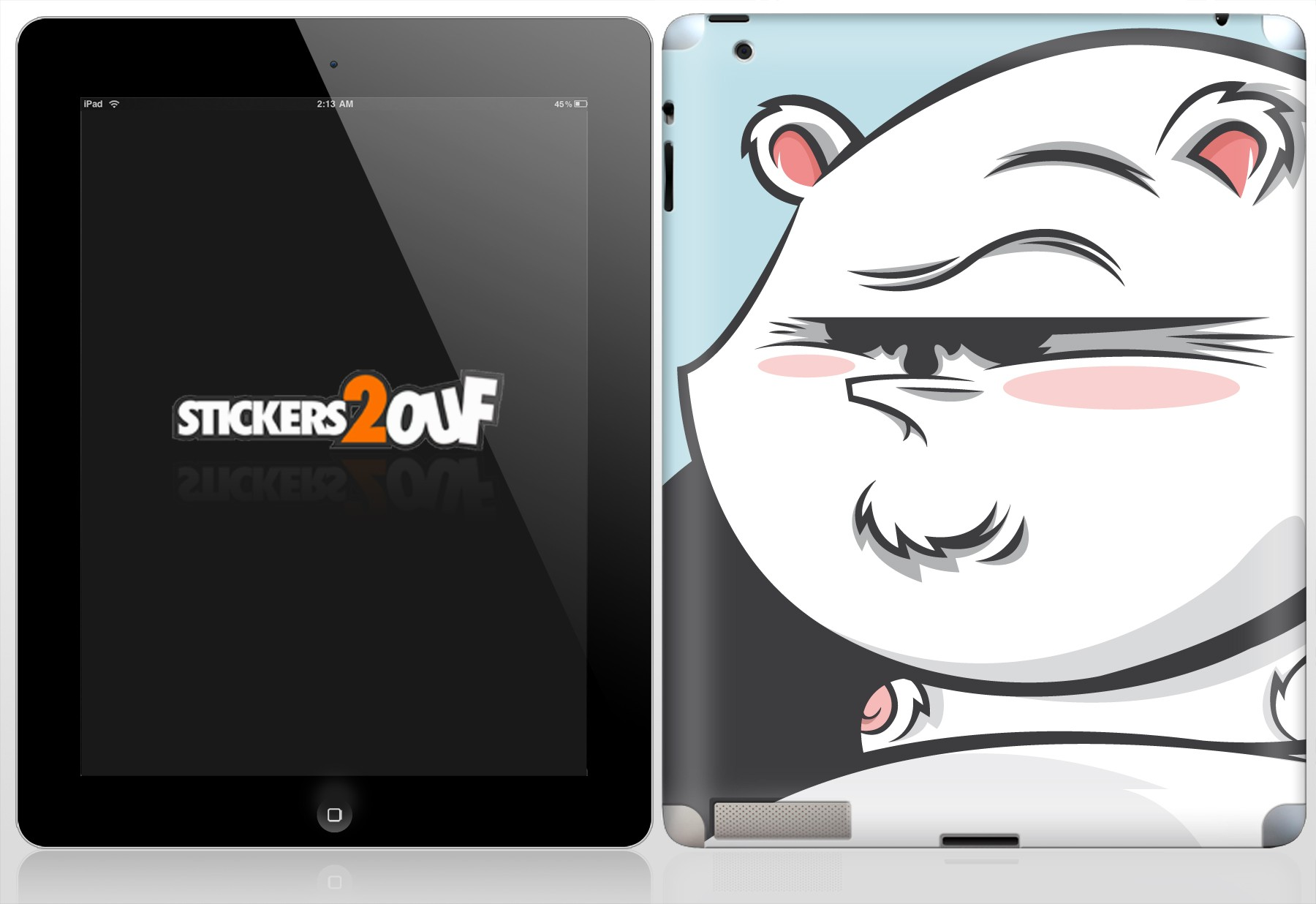 Panda iPad 2 et Nouvel iPad