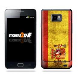 Drapeau Espagne Skin Galaxy S2
