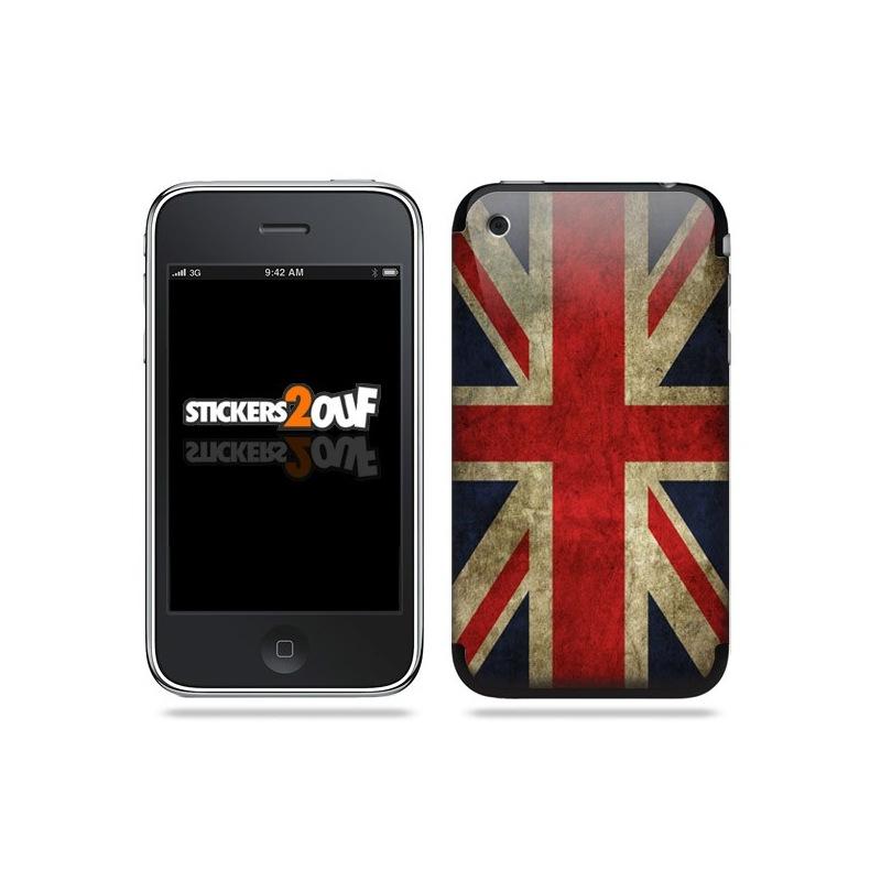 Drapeau Anglais Skin iPhone 3G et 3GS