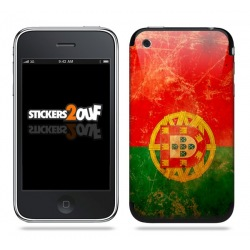Drapeau Portugal Skin iPhone 3G et 3GS