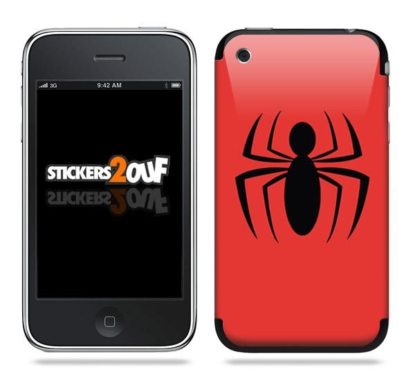 Spider Skin iPhone 3G et 3GS