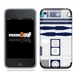 R2D2 Skin iPhone 3G et 3GS