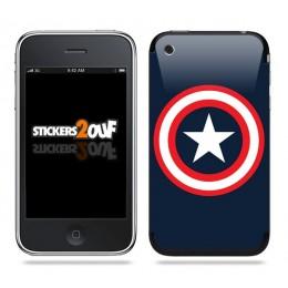 Captain America Skin iPhone 3G et 3GS
