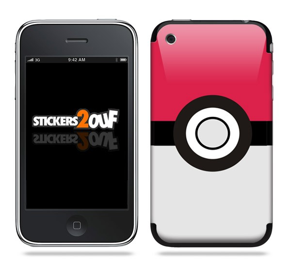 Pokeball Skin iPhone 3G et 3GS