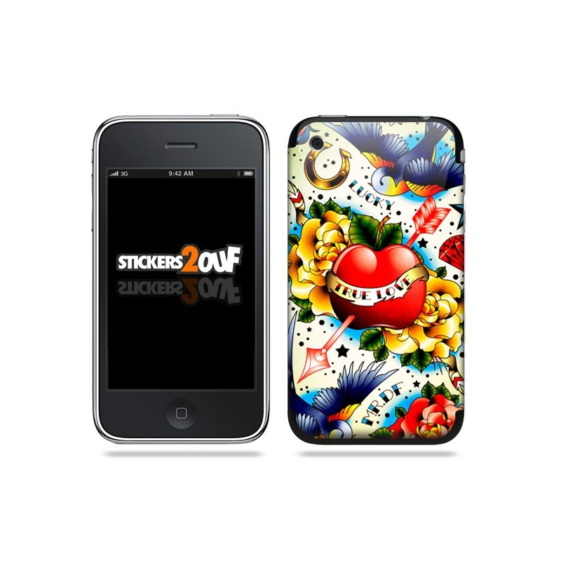 Tattoo Skin iPhone 3G et 3GS